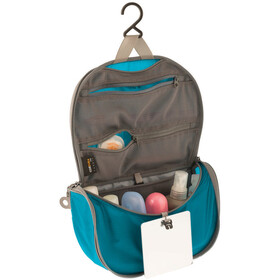 Sea to Summit Hanging Trousse de toilette Petit, blue/grey